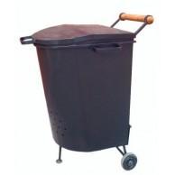 Печь для сжигания мусора МД-25