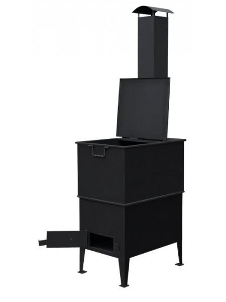 Печь для сжигания мусора Испепелятор с Дымоходом
