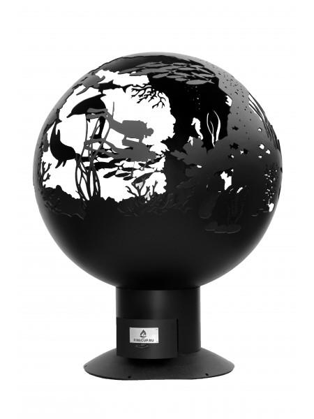 """Сфера для костра  """"Подводный мир"""""""
