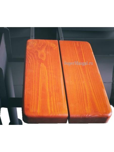 Навесной боковой столик для мангалов koncept