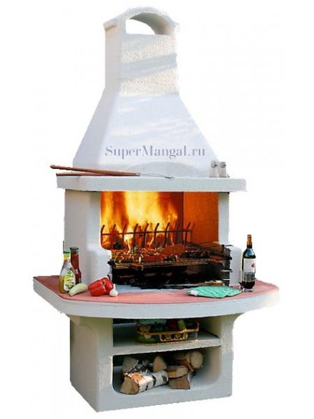 """Печь с мангалом и барбекю """"Престиж"""""""