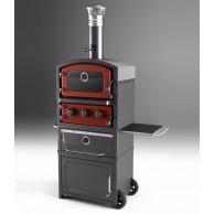 Печь, гриль и коптильня Fornetto с тёплым шкафом