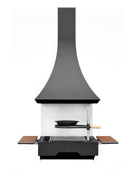 Гриль барбекю угольно - дровяной. Модель 610