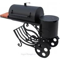 Мангал-коптильня Koncept МК-13 с печью для казана