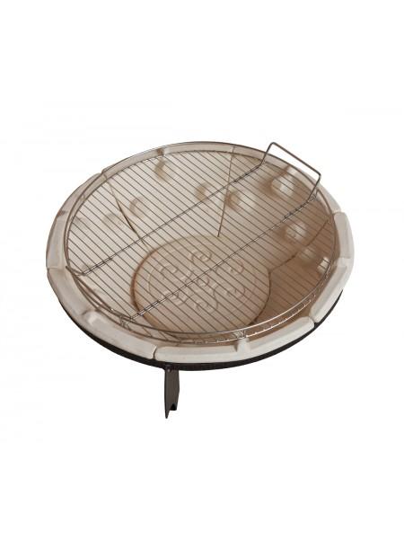 Решетка гриль для костровницы