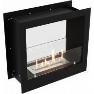 Сквозной биокамин Lux Fire трех размеров