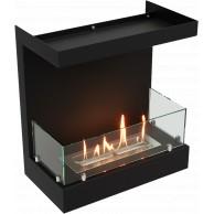 Встраиваемый фронтальный биокамин Lux Fire 3-х размеров