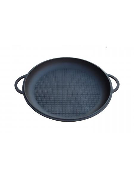 Крышка-сковорода чугунная D 340 мм