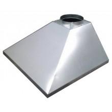 Зонт купольный вытяжной из оцинков. стали