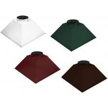 Зонты из окрашенной стали от 500 до 1500 мм
